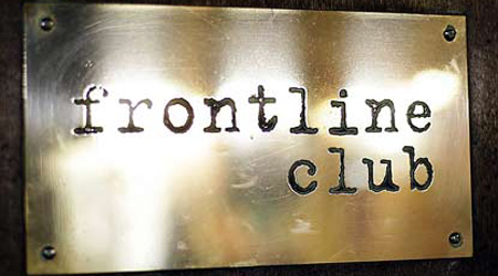 Gertten speaks at Frontline Club, London